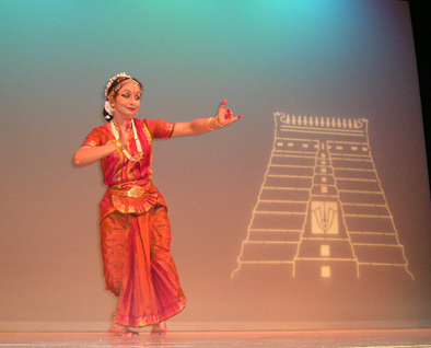 Bharatha Natyam dancer, teacher, and choreographer