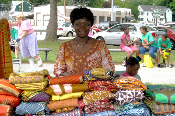 African Festival, Ethnic festival, 2009; African Festival of Lowell; Lowell, Massachusetts; Photography by Signe Porteshawver