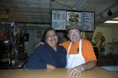 Carmen and Ismael Santiago; Puerto Rican musicans and foodways; 2008: Westfield, Massachusetts