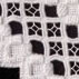 Detail of Hardanger cutwork table runner: 2007; Aline Drivdahl (b. 1947)